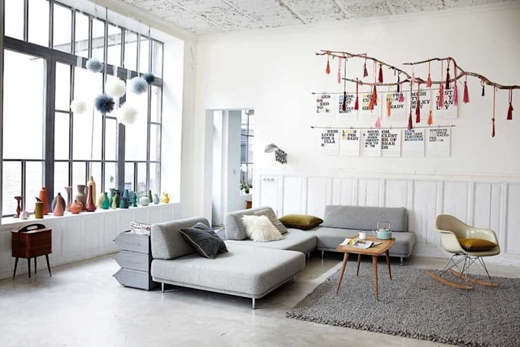 industrial Living room by Design for Love
