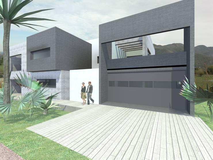 CASA LA CUMBRE: Casas de estilo  por URBANIZARQ