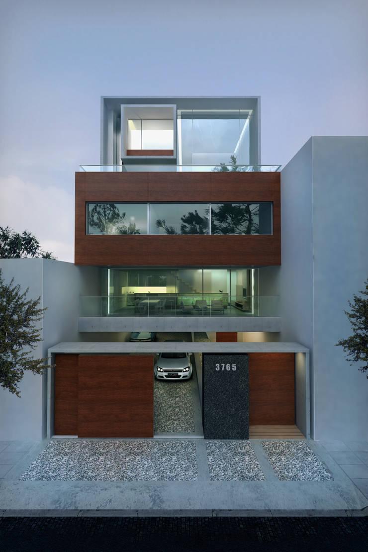 Edificio Simbron : Casas de estilo  por LIMMIT