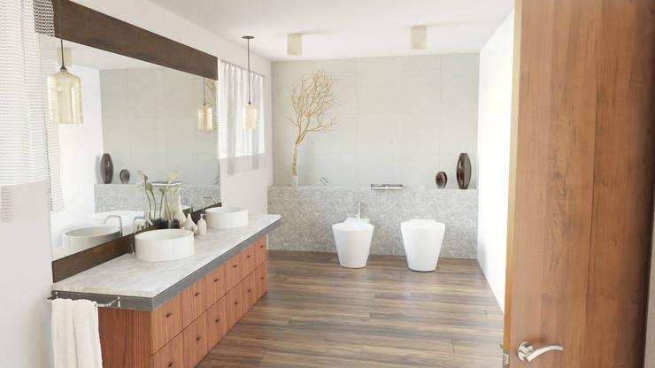 Ванные комнаты в . Автор – uArchitekta