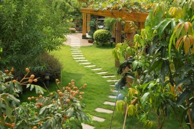 Jardines de estilo  por SERENITE HABITAT
