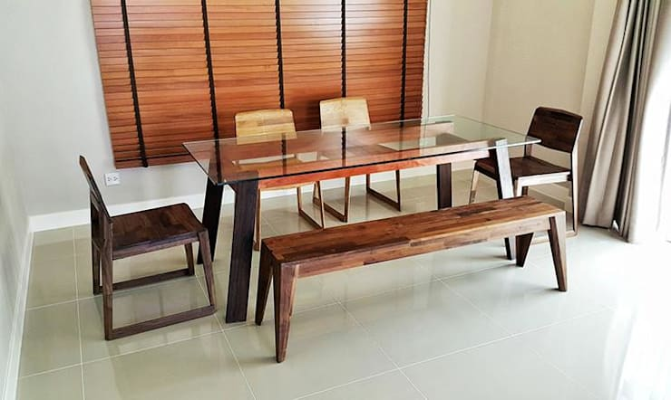 Dining Room: modern Dining room by EMOH Modern Furniture Store HK