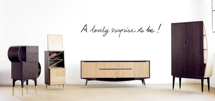 Living Room:  Living room by EMOH Modern Furniture Store HK