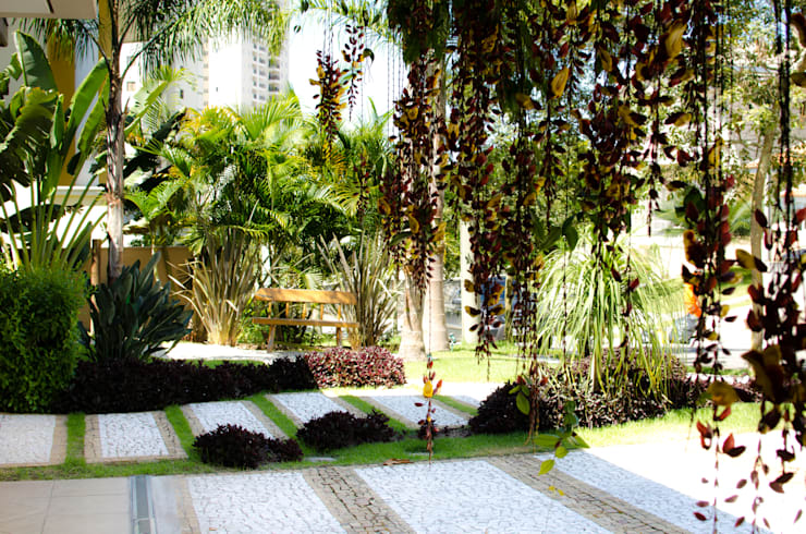 庭院 by Felipe Mascarenhas Paisagismo