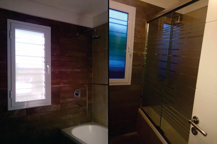 Baño: Baños de estilo  por MONARQ ESTUDIO