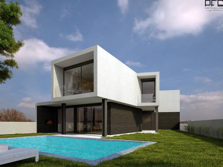 CASA RS_BARCELOS_2013: Casas  por PFS-arquitectura,Moderno