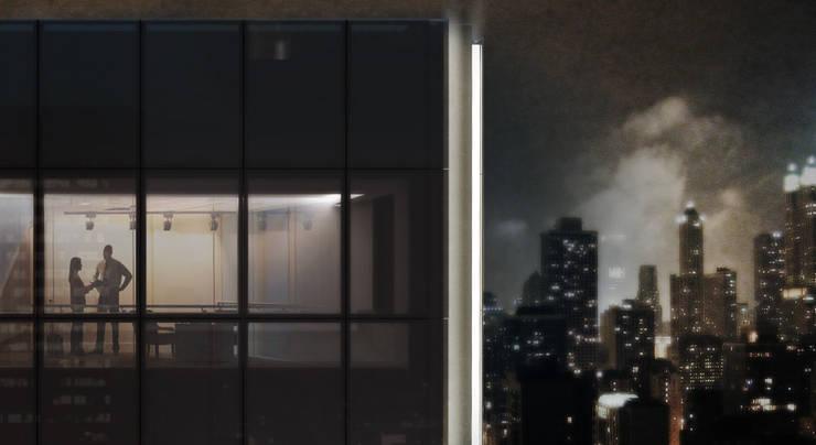 Edificios de Oficinas de estilo  por Coletivo de Arquitetos , Minimalista