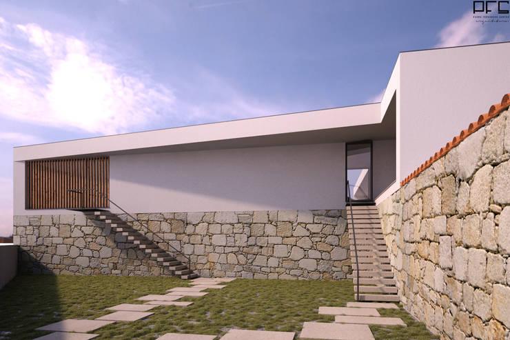 CASA AM_BARCELOS_2014: Casas minimalistas por PFS-arquitectura