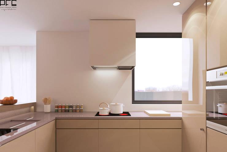 APARTAMENTO AD_PÓVOA DE VARZIM_2015: Cozinhas  por PFS-arquitectura