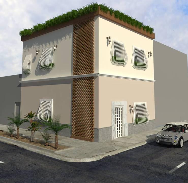 Casas de estilo  por Kuro Design Studio