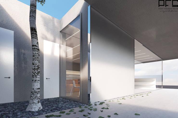 LOJA CONVENIÊNCIA DG 02_ESPOSENDE_2016: Lojas e espaços comerciais  por PFS-arquitectura