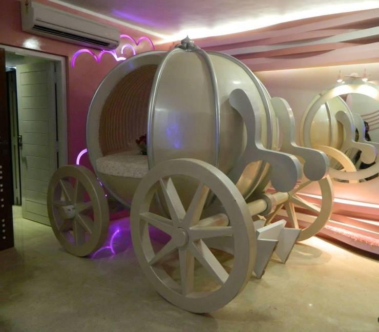 high end house interior:  Nursery/kid's room by Vinyaasa Architecture & Design,