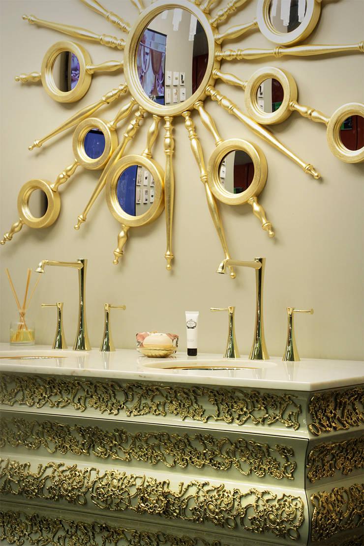 Art for the Bath: Crochet Washbasin : Casa de banho  por Maison Valentina