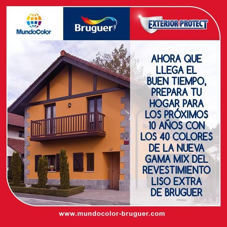 FACHADAS: Casas de estilo  por MC CONSERVACIÓN Y RESTAURACIÓN, S.L.