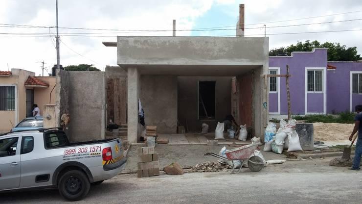 Proceso de construcción:  de estilo  por RecreARQ Construcciones