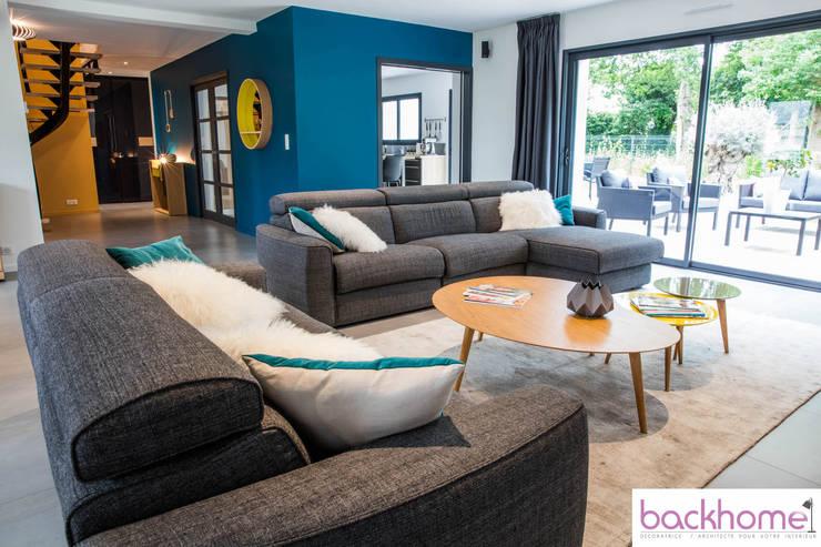 Come dipingere il soggiorno in stile moderno: 14 esempi