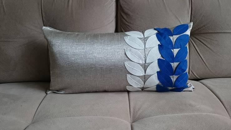 ays-design – YASTIK:  tarz , Kırsal/Country Tekstil Altın Sarısı
