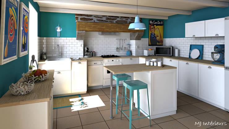 Vorher-Nachher: Vollgemüllte Küche bekommt wunderbares Makeover