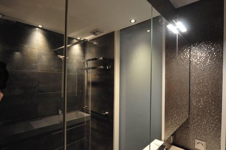 浴室 by AGZ badkamers en sanitair, 鄉村風 磁磚