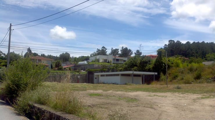 Exterior - em fase de construção :   por Judite Barbosa Arquitetura