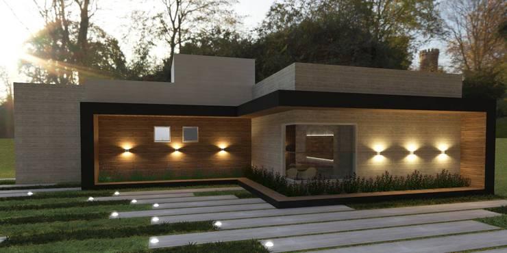 Residência Térrea: Casas  por Vitral Studio Arquitetura