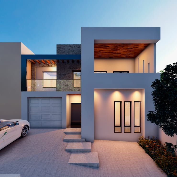 Render del proyecto propuesto.:  de estilo  por Laboratorio Mexicano de Arquitectura
