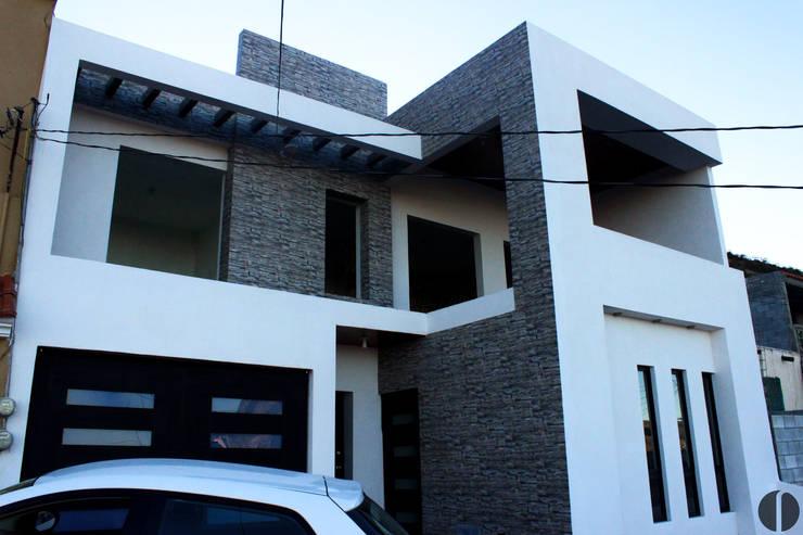 Fachada Propuesta:  de estilo  por Laboratorio Mexicano de Arquitectura