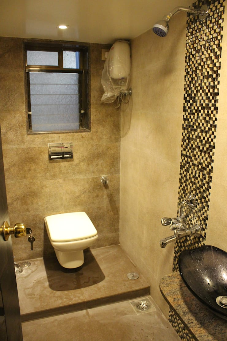 BATHROOM: asian  by VUE DESIGN,Asian