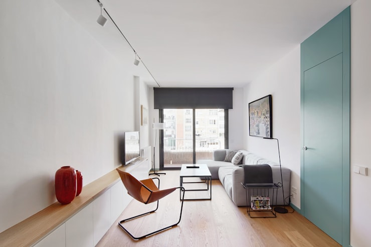 ห้องนั่งเล่น by BONBA studio