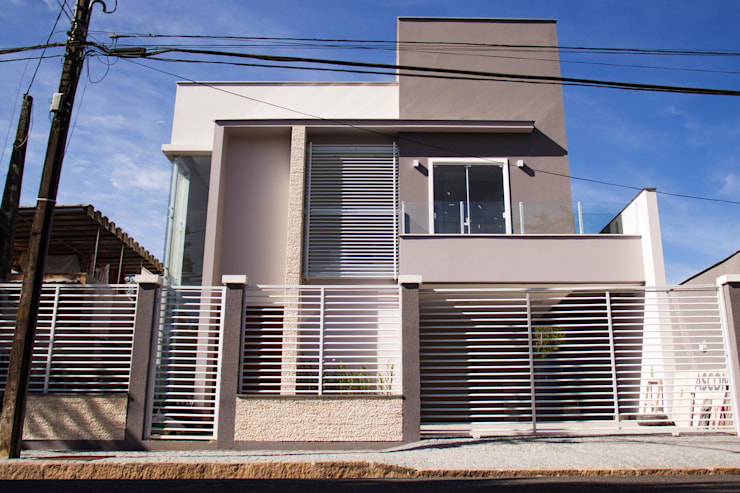 Houses by Cecyn Arquitetura + Design, Modern