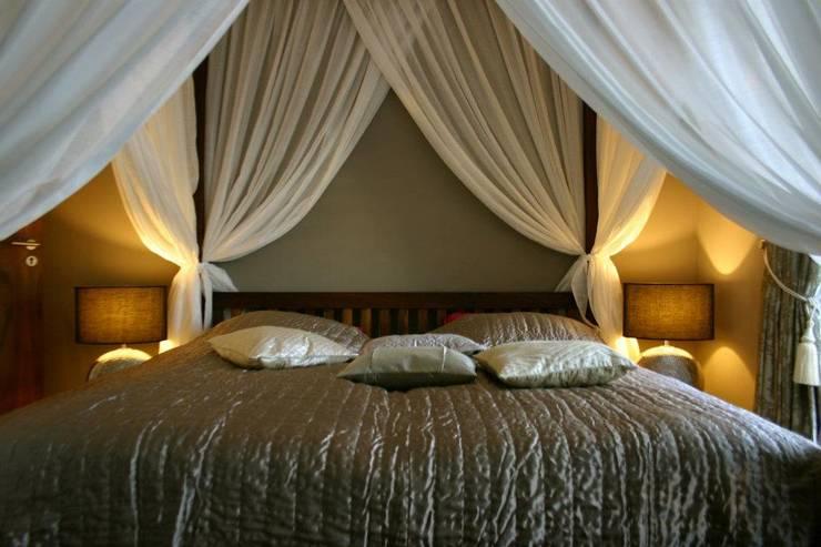 koloniale Slaapkamer door Lydia Wegner interiordesign / finest art of living