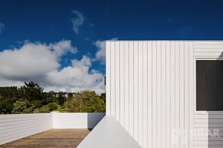 Treehouse Cabo da Roca: Terraços  por Jular Madeiras