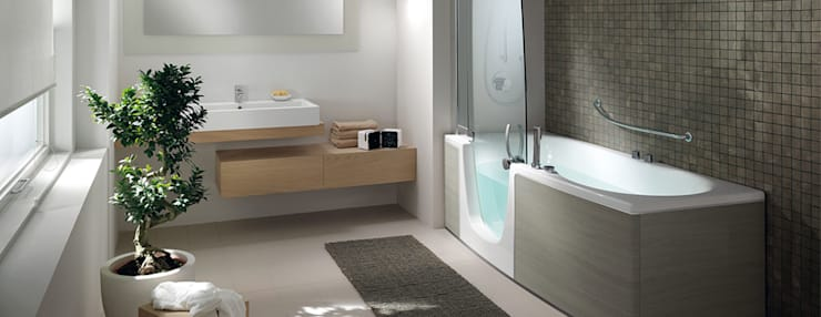 modern Bathroom by Bad Campioni