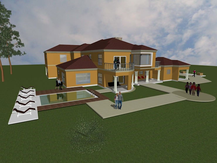 Rev Nkosi:   by iRON B HOME DESIGN
