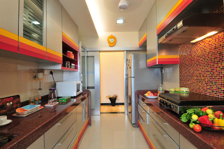 Other Interior projects: modern Kitchen by Aum Architects