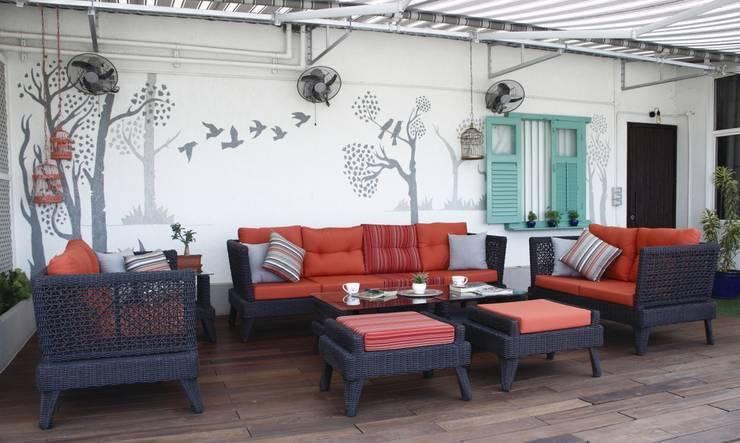 ..:  Terrace by Neha Changwani,Modern