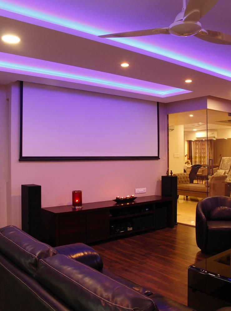 ..:  Media room by Neha Changwani,Modern