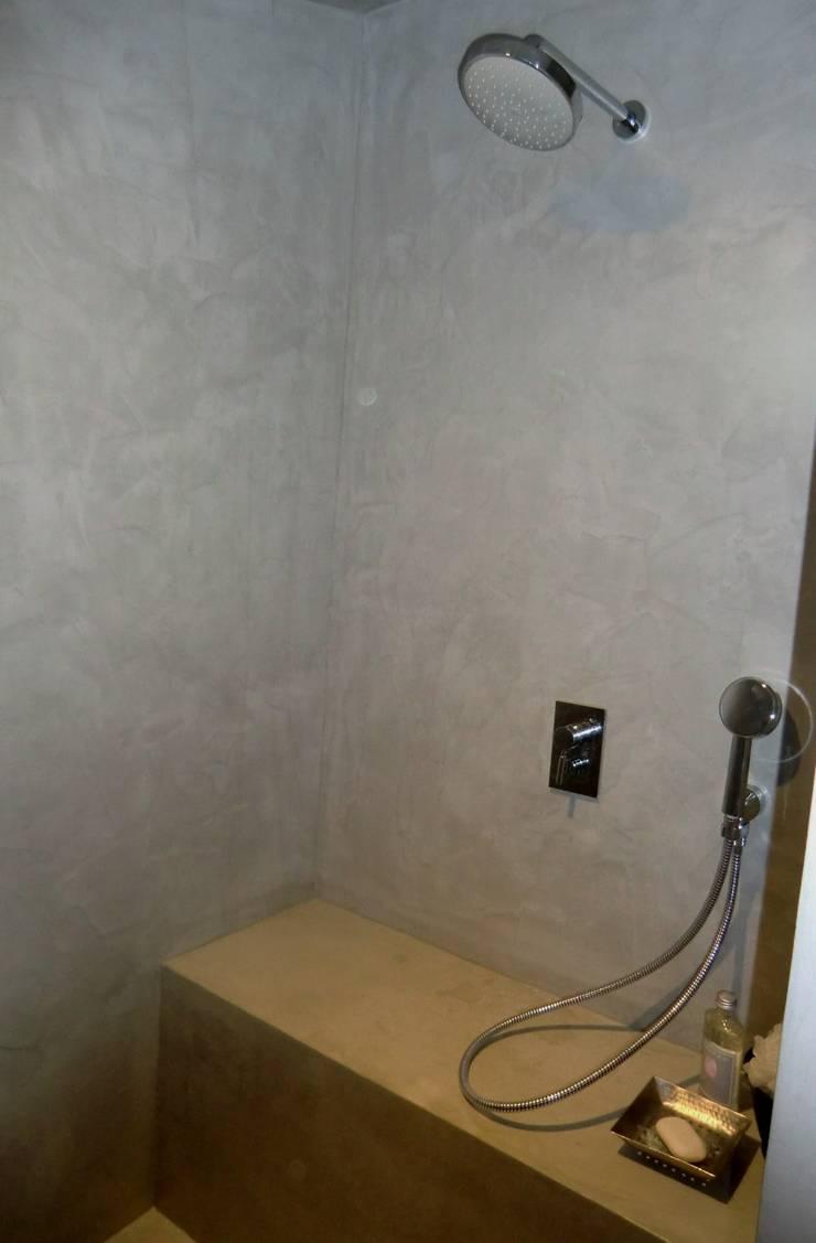 salles de bains en béton ciré par a fleur de chaux | homify