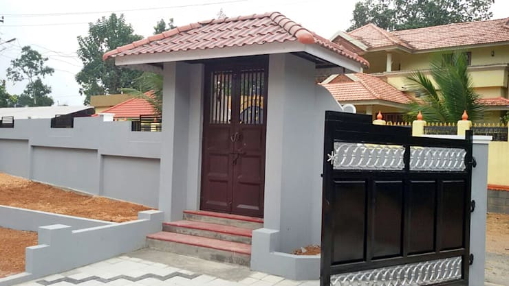 Our Interior Design Works:  Corridor & hallway by Aishwarya Developers ,Asian Copper/Bronze/Brass