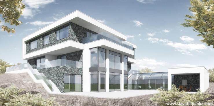 Вилла в Праге - 16: Дома в . Автор – Slava Filipenka architect