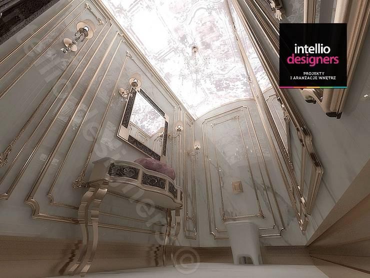 Projekt ultraluksusowego apartamentu w Krakowie: styl , w kategorii Łazienka zaprojektowany przez Intellio designers