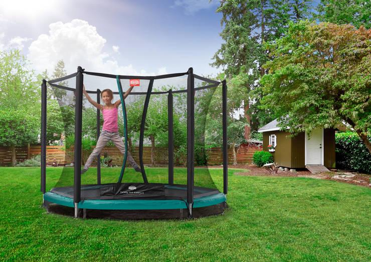 BERG InGround Talent 180/240/300 + Safety Net Comfort:  Tuin door BERG Toys B.V., Landelijk Kunststof