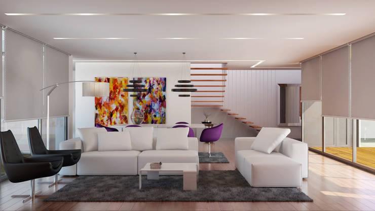 Sala de jantar:   por Judite Barbosa Arquitetura