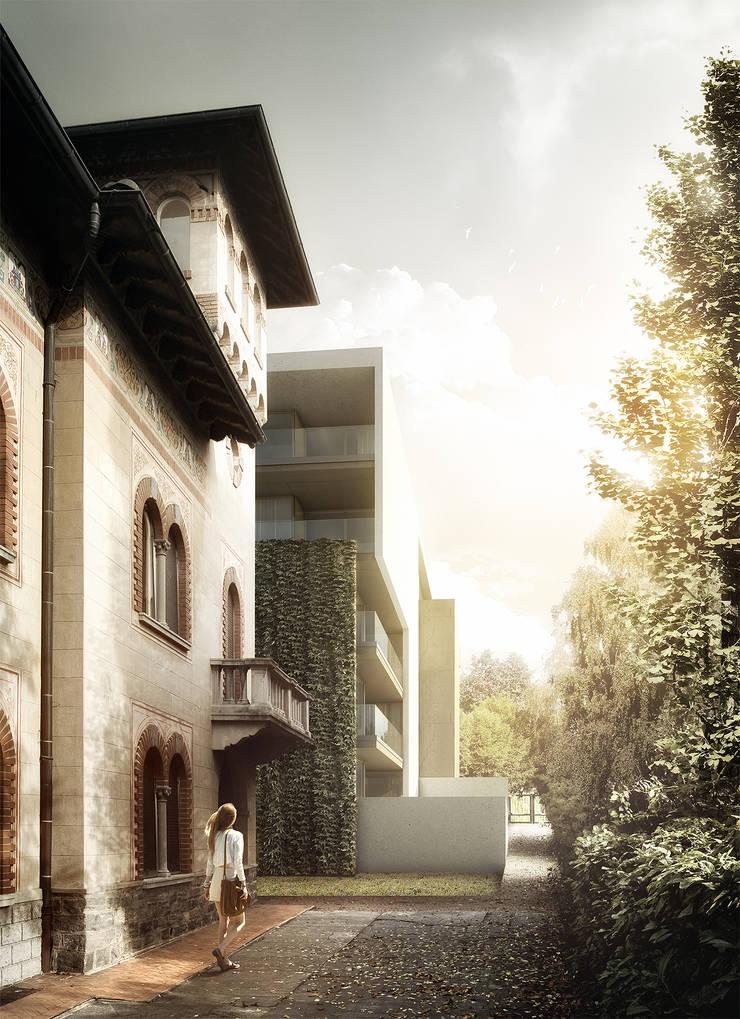 Villa Vera, Bellinzona (CH):   por Rosario Badessa