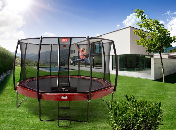 BERG Elite+  330/380/430 + Safety Net T-Series:  Tuin door BERG Toys B.V., Landelijk Kunststof