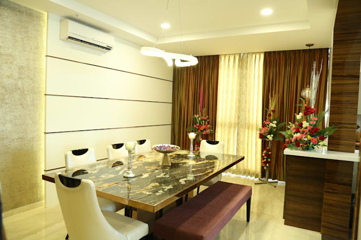 Dining room :  Dining room by Studio Stimulus