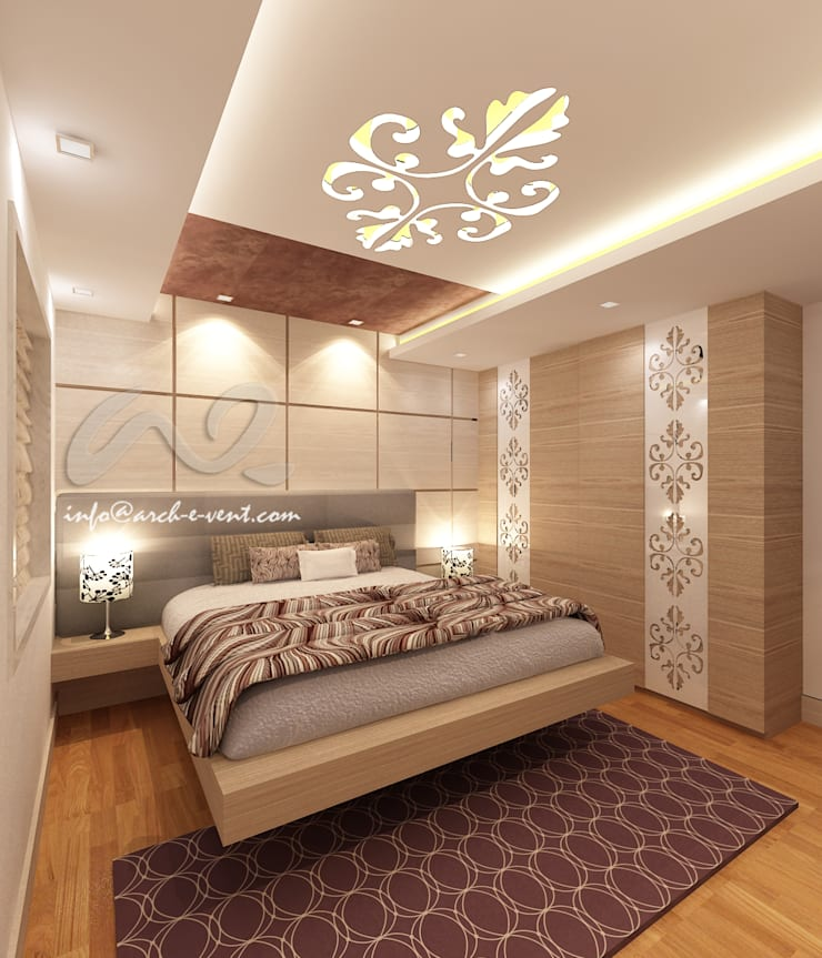 The Jeweler's Tiara :  Bedroom by Arch-e-Vent