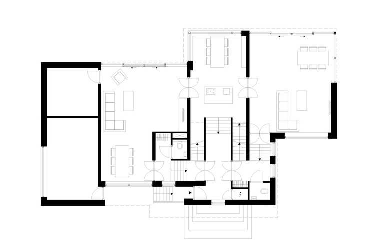 Villa Montfoort: modern  door Station-D Architects, Modern