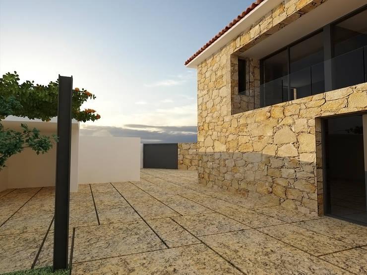 Exterior :   por Judite Barbosa Arquitetura