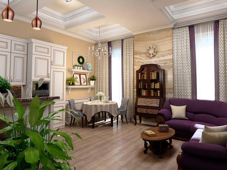 classic Living room by ЙОХ architects
